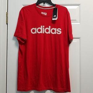 2/$30 NWT Men's size XL Adidas tee